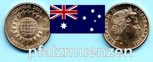 Australien 2011 1 Dollar Commonwealth Meeting