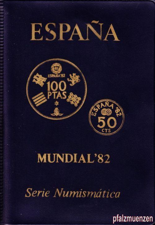 Spanien 1980 Original Kms Zur Fußball Wm 1982